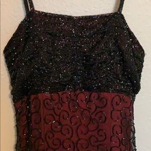 Beaded Gown from Cache XS